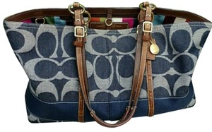 Coach Tote in Blue - item med img