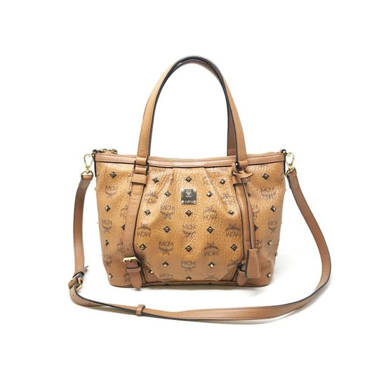 Preload https://img-static.tradesy.com/item/25765420/mcm-women-s-mwp6sv175-med-brown-leather-shoulder-bag-0-0-540-540.jpg