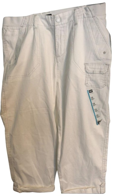 Preload https://img-static.tradesy.com/item/25765432/lee-white-relaxed-fit-capricropped-jeans-size-34-12-l-0-1-650-650.jpg
