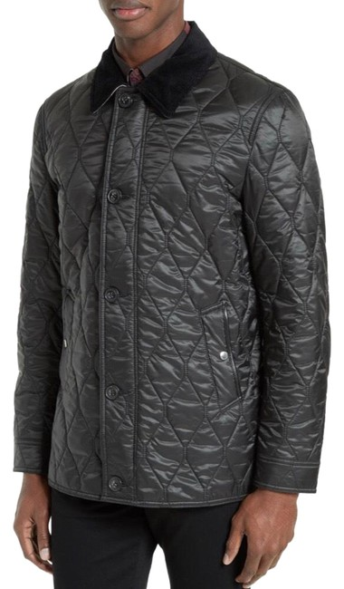 Preload https://img-static.tradesy.com/item/25765460/burberry-black-men-s-gransworth-leather-elbow-patch-quilted-large-jacket-size-12-l-0-1-650-650.jpg