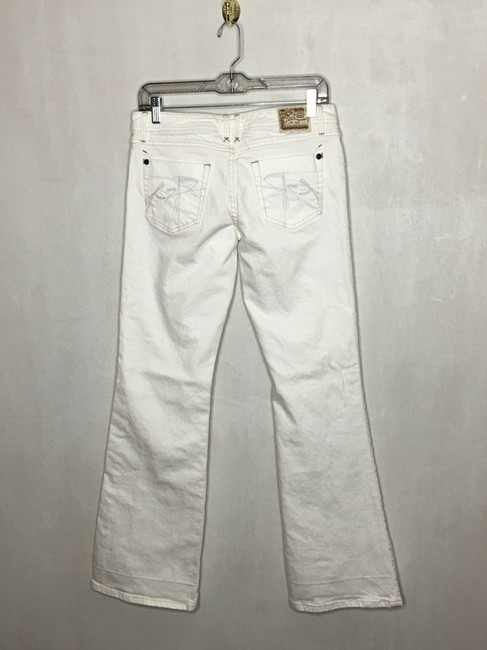 Chip and Pepper Flare Leg Jeans-Light Wash Image 1