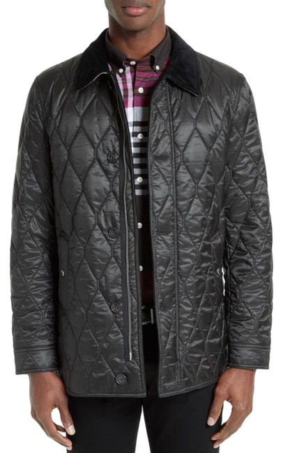 Preload https://img-static.tradesy.com/item/25765498/burberry-black-men-s-gransworth-leather-elbow-patch-quilted-large-jacket-size-12-l-0-1-650-650.jpg