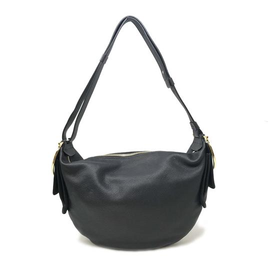 Preload https://img-static.tradesy.com/item/25765523/salvatore-ferragamo-hobo-women-s-647216-21f870-black-leather-shoulder-bag-0-0-540-540.jpg