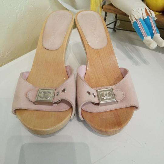 Chanel Pink Mules Image 0