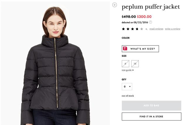 Preload https://img-static.tradesy.com/item/25765549/kate-spade-black-peplum-puffer-down-feather-jacket-coat-size-2-xs-0-0-650-650.jpg