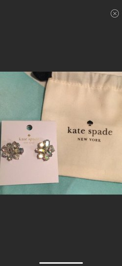 Kate Spade NWT Kate Spade Iridescent cluster earrings Image 1