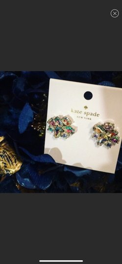 Kate Spade NWT Kate Spade Iridescent cluster earrings Image 3