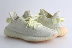 """adidas X Yeezy Yellow Boost 350 V2 """"Butter"""" Sneakers Shoes"""