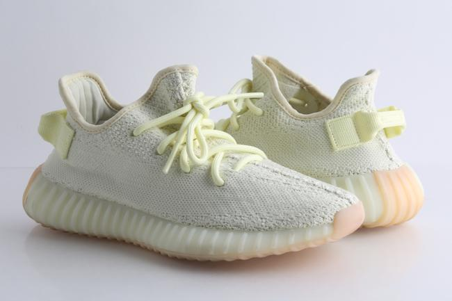 """Item - Yellow Boost 350 V2 """"Butter"""" Sneakers Shoes"""