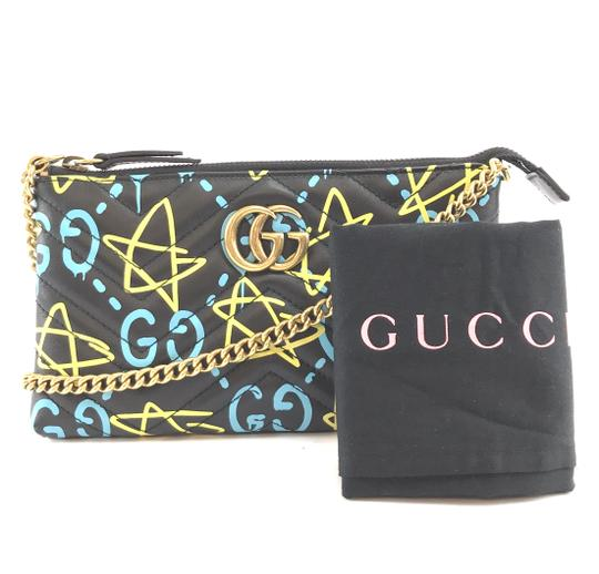 Gucci Marmont Ghost Gg Long Chain Cross Body Bag Image 1