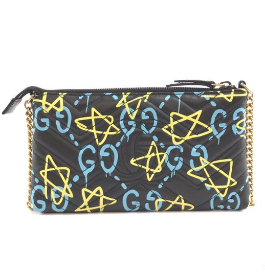 Gucci Marmont Ghost Gg Long Chain Cross Body Bag Image 2