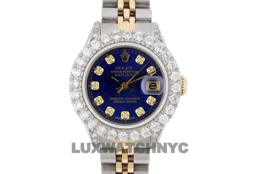 Rolex 2.8ct Ladies 26mm Datejust Gold & Stainless with Appraisal Image 1