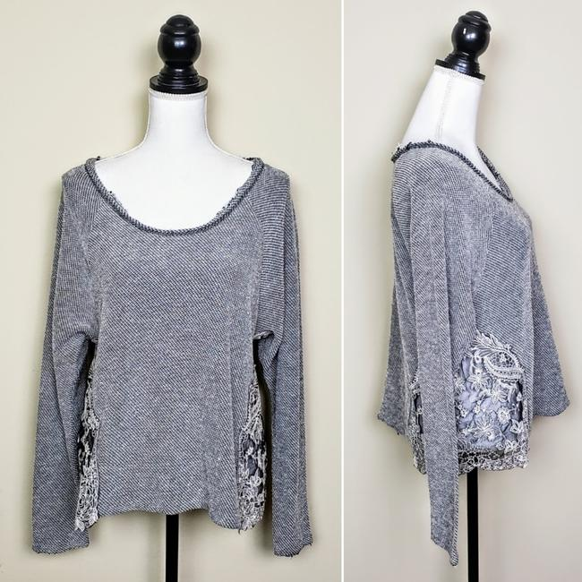 Urban Outfitters Boho Longsleeve Distressed Cutout Sweater Image 1