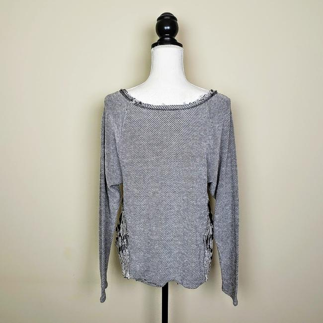 Urban Outfitters Boho Longsleeve Distressed Cutout Sweater Image 3