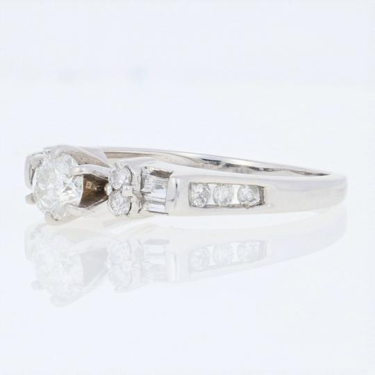 Wilson Brothers Jewelry Diamond Engagement Ring 14k Gold Round Brilliant Cut .56ctw E5462 Image 1
