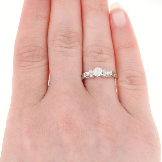 Wilson Brothers Jewelry Diamond Engagement Ring 14k Gold Round Brilliant Cut .56ctw E5462 Image 2