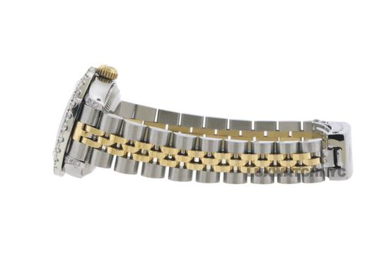 Rolex 2.8ct Ladies 26mm Datejust Gold & Stainless with Appraisal Image 3