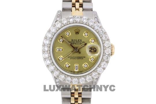 Rolex 2.8ct Ladies 26mm Datejust Gold & Stainless with Appraisal Image 9