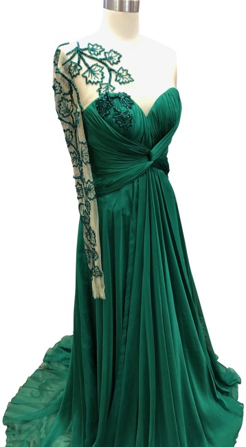 Item - Emerald Green Alexis Elbise Long Formal Dress Size 0 (XS)
