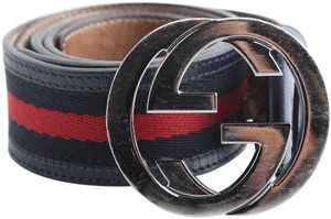 Gucci Gucci Web Belt with Buckle