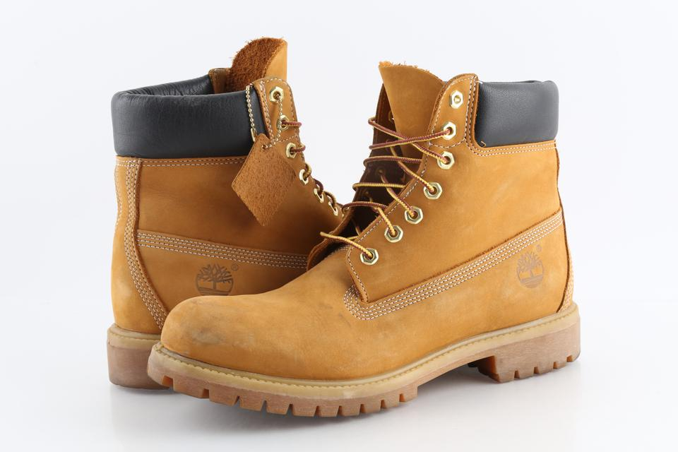 atarse en ahorre hasta 80% bien fuera x Timberland Brown Wheat Nubuck 6 Inch Waterproof Boots Shoes - Tradesy