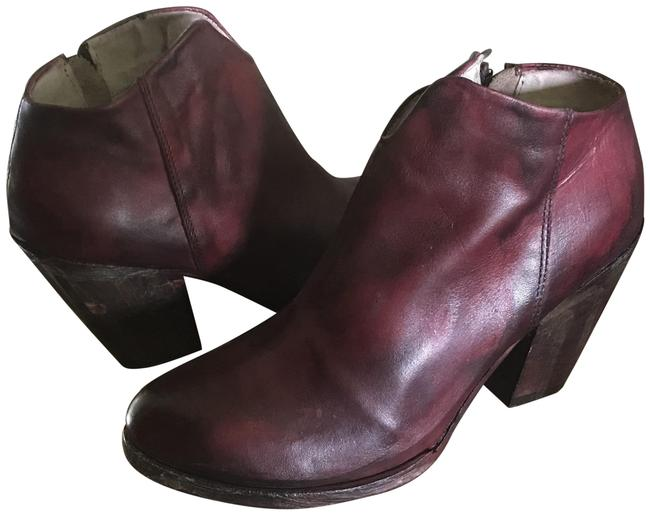 Item - Red/Wine Detroit Boots/Booties Size US 9 Regular (M, B)