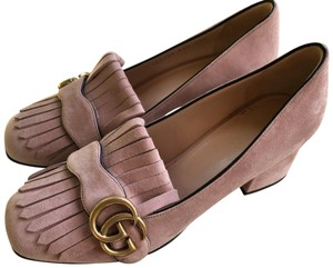 Gucci Pink Nude Mules