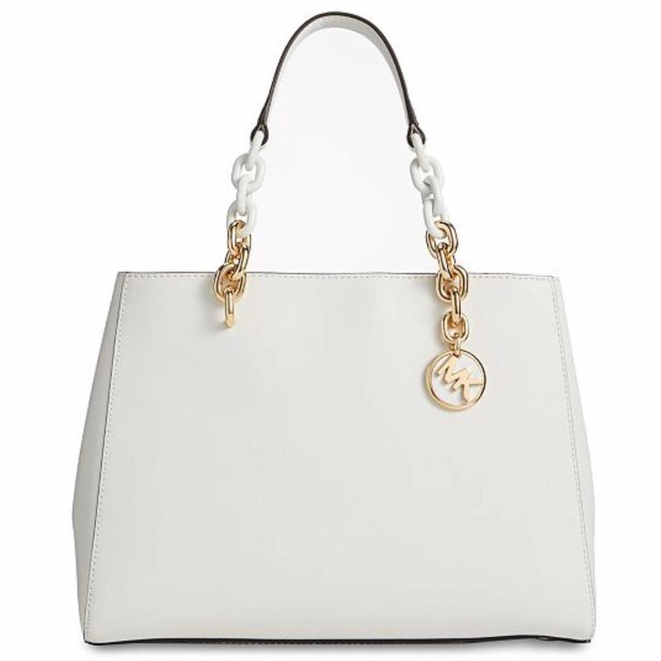Cynthia MD Satchel Optic White
