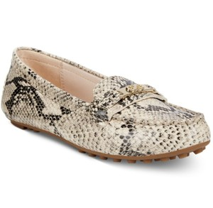Cole Haan Cream and Black Flats