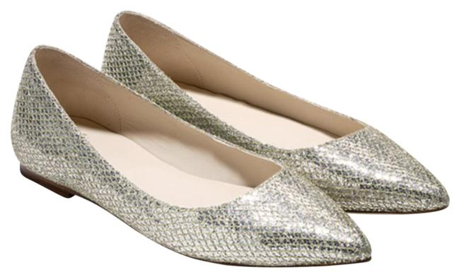 Item - Gold and Silver Tartine Skimmer Gold/Silver Flats Size US 6.5 Regular (M, B)