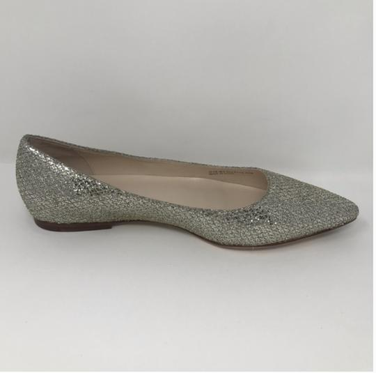 Cole Haan Gold and Silver Flats Image 2