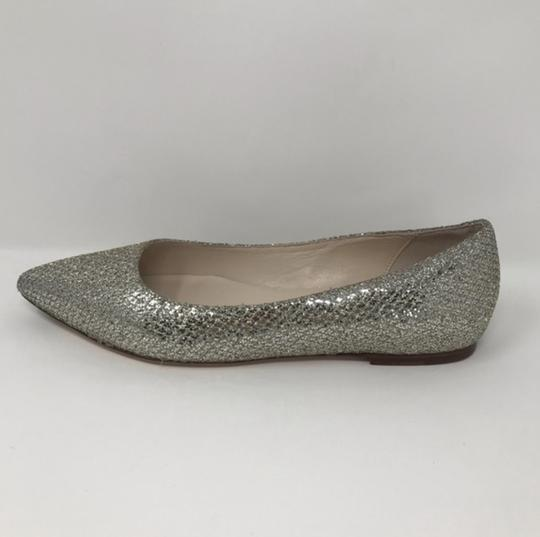 Cole Haan Gold and Silver Flats Image 3