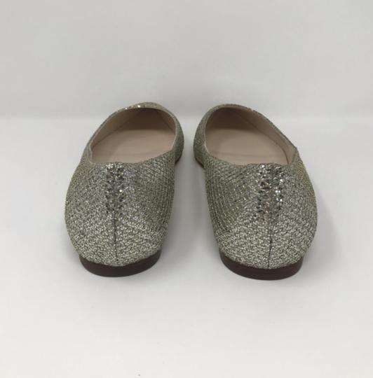 Cole Haan Gold and Silver Flats Image 4