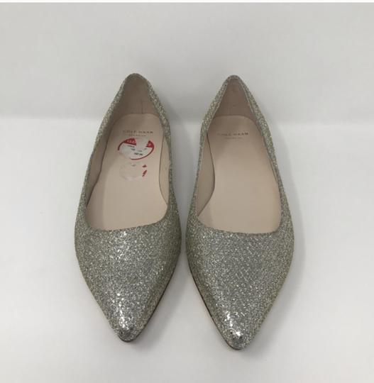 Cole Haan Gold and Silver Flats Image 5