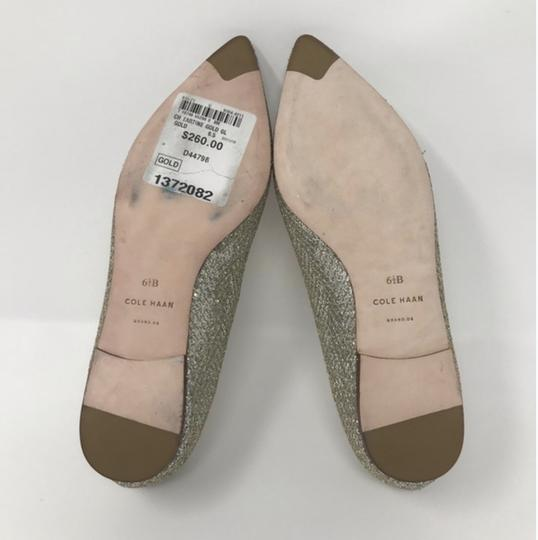 Cole Haan Gold and Silver Flats Image 6