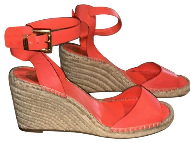 Item - Orange Leera Espadrilles Wedges Size US 9 Regular (M, B)