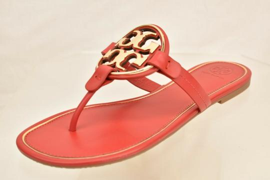 Tory Burch Red Flats Image 5