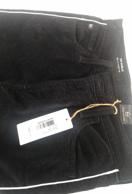 AG Adriano Goldschmied Straight Pants Black Image 1