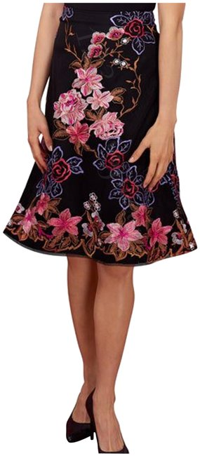Preload https://img-static.tradesy.com/item/25766901/eci-new-york-multi-color-embroidered-mesh-overlay-a-line-skirt-size-petite-12-l-0-1-650-650.jpg