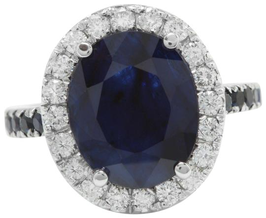 Preload https://img-static.tradesy.com/item/25766945/blue-670ctw-natural-sapphire-and-diamond-in-14k-solid-white-gold-ring-0-1-540-540.jpg