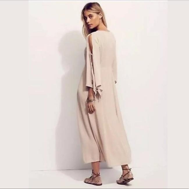 Cream Maxi Dress by Free People Image 2