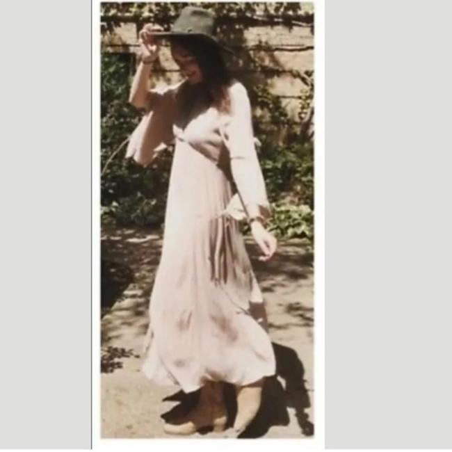 Cream Maxi Dress by Free People Image 3