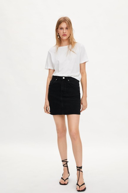 Zara Mini Skirt Black Image 1