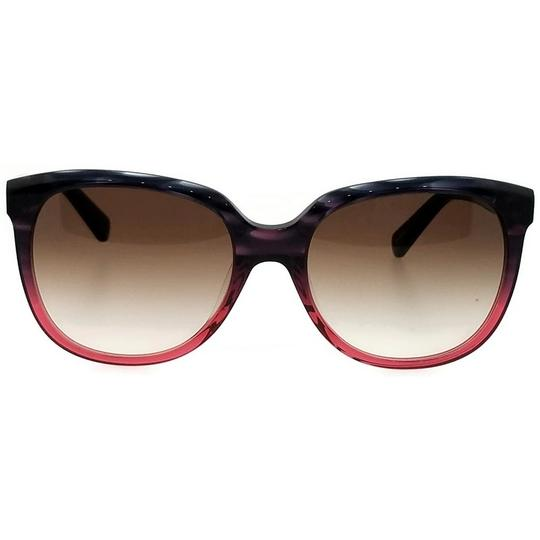 Kate Spade Bayleigh-S-4PW-B1-55 Oval Women's Rose Tortoise Frame Sunglasses NWT Image 1