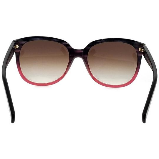 Kate Spade Bayleigh-S-4PW-B1-55 Oval Women's Rose Tortoise Frame Sunglasses NWT Image 3