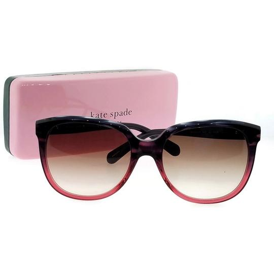 Kate Spade Bayleigh-S-4PW-B1-55 Oval Women's Rose Tortoise Frame Sunglasses NWT Image 4