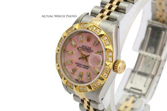 Rolex Rolex Lady Datejust Pink MOP Diamond Dial Diamond Bezel 26mm- Quickset Image 3