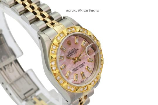 Rolex Rolex Lady Datejust Pink MOP Diamond Dial Diamond Bezel 26mm- Quickset Image 4