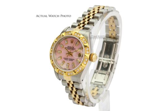 Rolex Rolex Lady Datejust Pink MOP Diamond Dial Diamond Bezel 26mm- Quickset Image 5