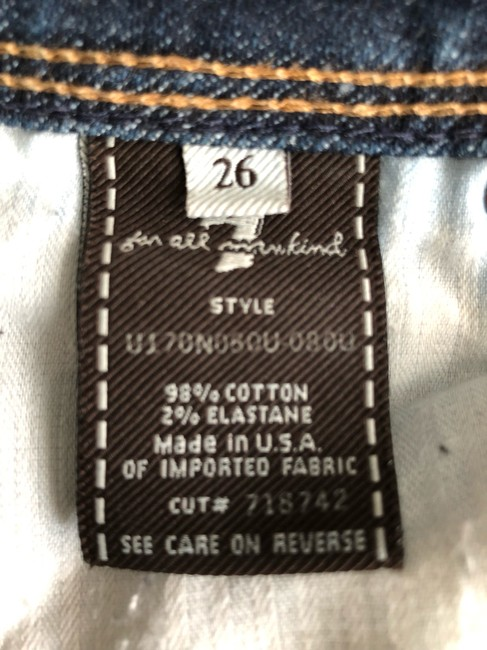 7 For All Mankind Boot Cut Jeans Image 3